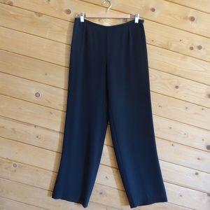 Armani Collezioni Acetate Silk Slinky Wide Pants